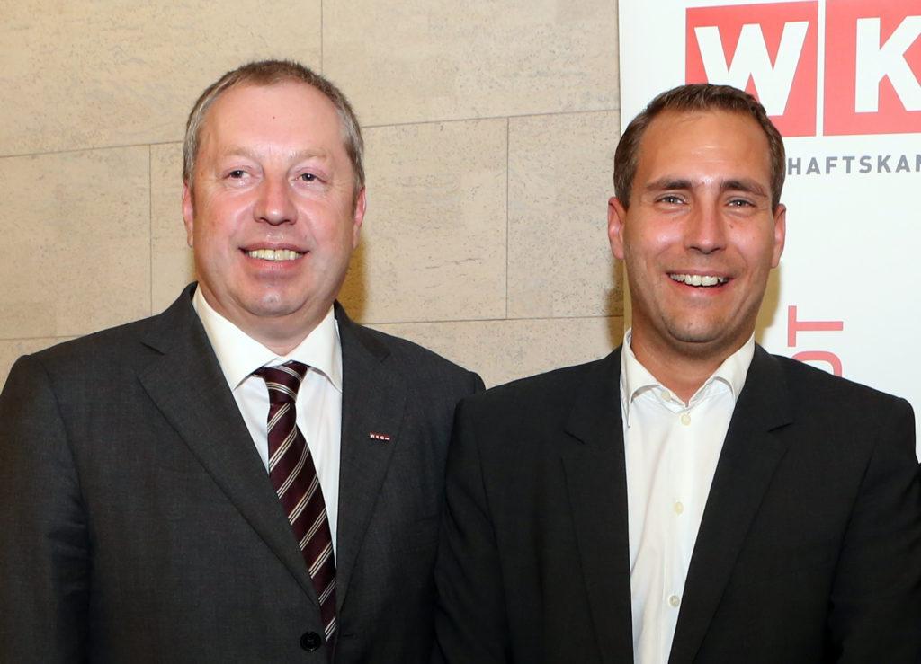 Eduard Riegler und Wolfgang Bräu